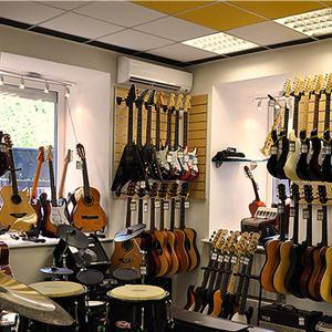 Музыкальные магазины Камы